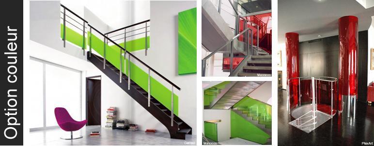 Escalier making loft - Garde corps plexiglas prix ...