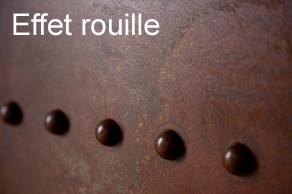 La rouille s invite dans la d co making loft - Mur effet metal ...