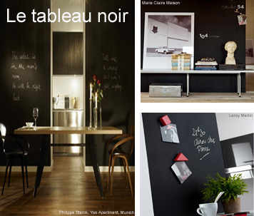 id e d co le tableau noir making loft. Black Bedroom Furniture Sets. Home Design Ideas