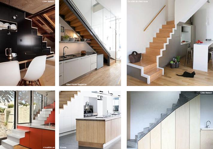 escalier making loft. Black Bedroom Furniture Sets. Home Design Ideas