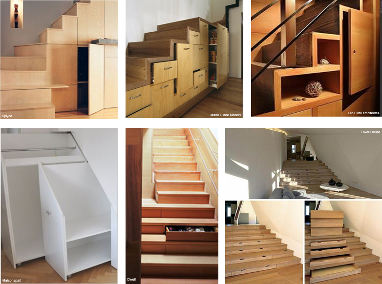escalier making loft. Black Bedroom Furniture Sets. Home Design Ideas