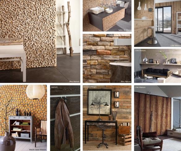 un mur en bois making loft. Black Bedroom Furniture Sets. Home Design Ideas