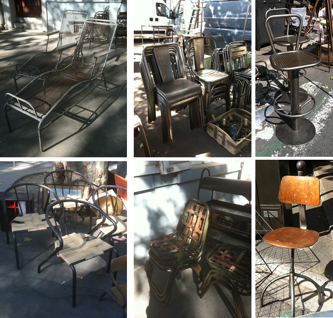 petit tour la braderie de lille mobilier industriel making loft. Black Bedroom Furniture Sets. Home Design Ideas